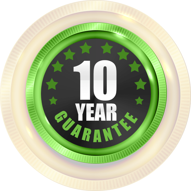 Badge 10 Years of Guarantee